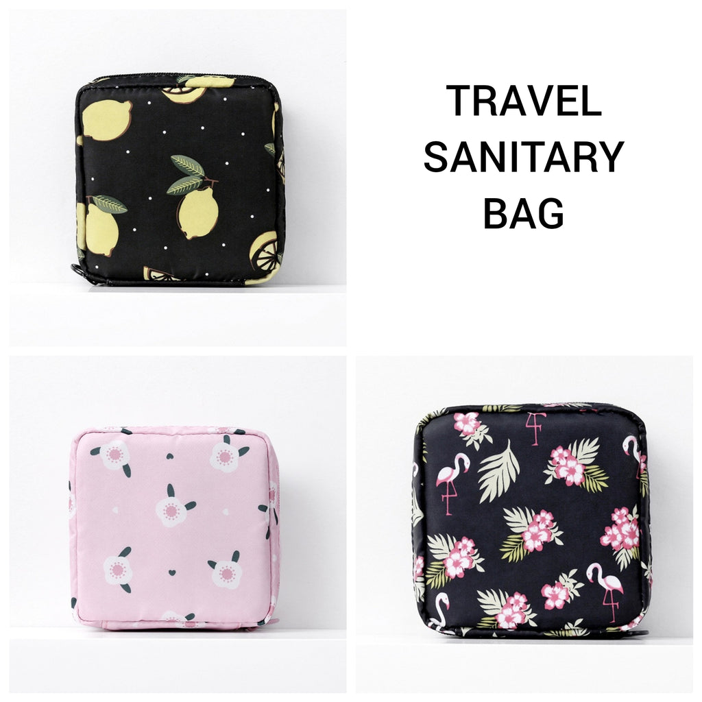 Multi Purpose Travel Sanitary and Cosmetic Pouch