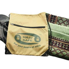 Shoe and Prayer Mat Drawstring Bag