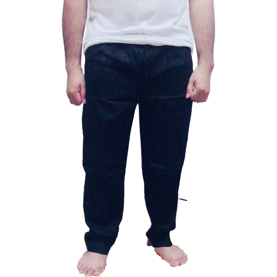 Tapered Ankle Pants- Black