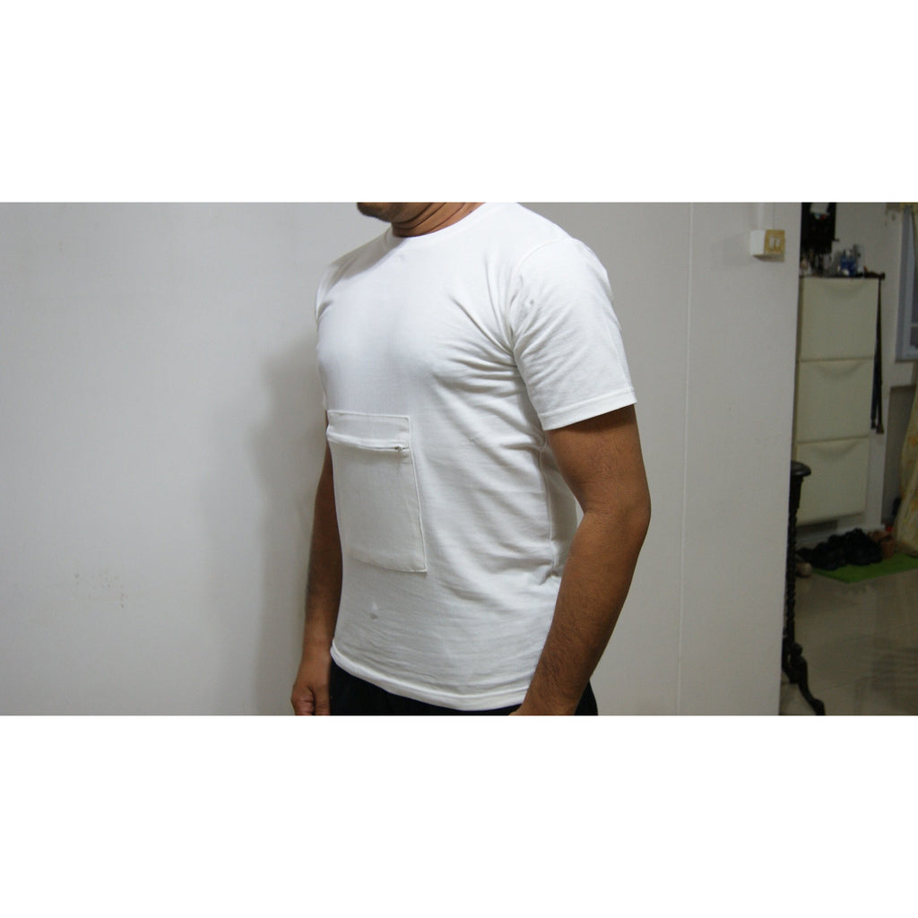 Zipped Pocket T- Shirt (Male)
