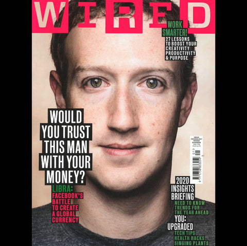Wired Magazine January 2020