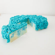 Cake Soap - Roses could be blue