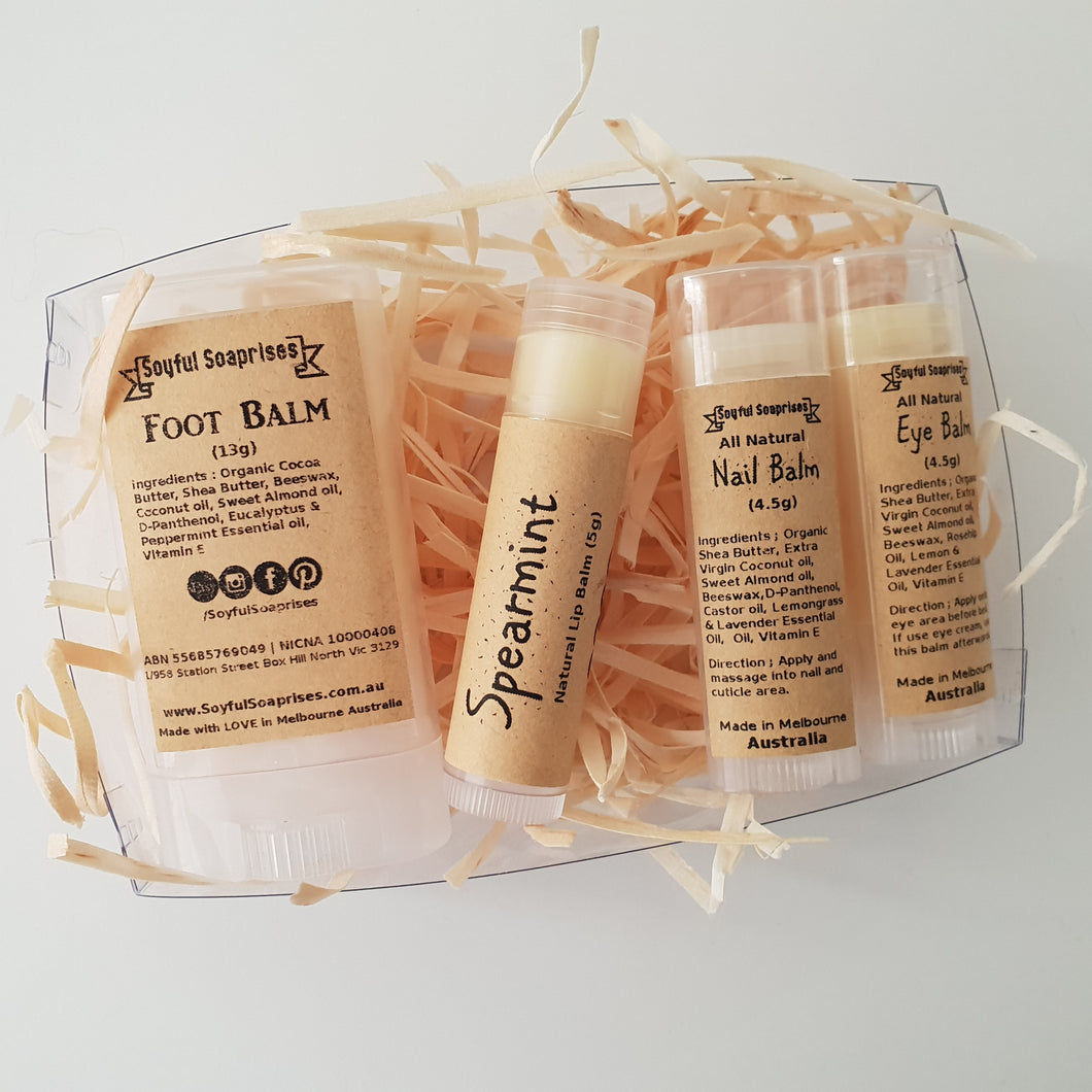 Balm-tastic 4 -  gift set (Out of stock)
