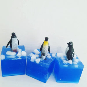 Save South Pole Penguin Soap