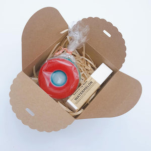 Donut soap & Lip Balm Gift Set