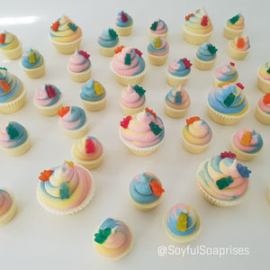 Gummy Bears Cupcake Soaps (Out of Stock)