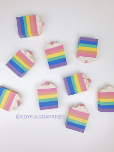Rainbow Candy Body Soap(Out of stock)