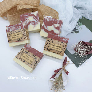Facial Soap - Australian Red Clay & Kaolin Clay