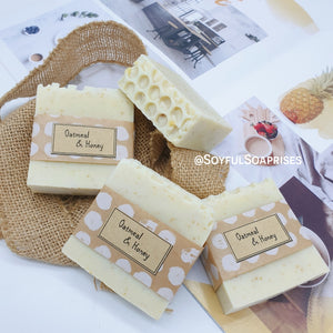 Facial Soap - Oatmeal & Honey