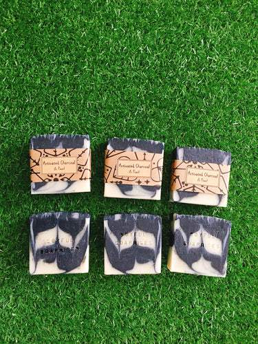 Activated Charcoal & Pearl Facial Soap