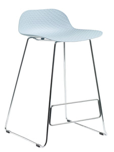 Polo Stool (Chrome Base)