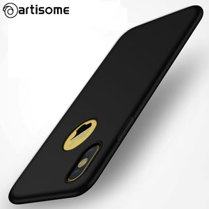 ARTISOME Full Cover Case For iPhone 8 Fashion Plastic Phone Case Slim PC Hard Back Cover For iphone 8 Case Coque Protection Capa