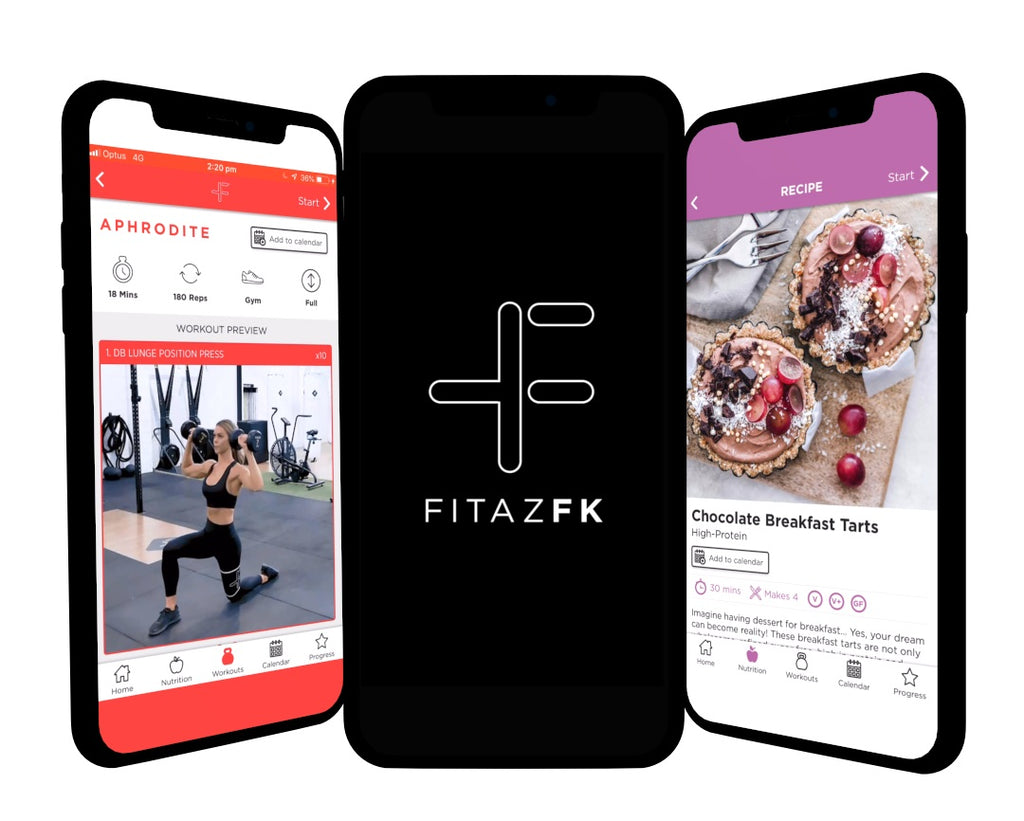 Best features from the new FitazFK app