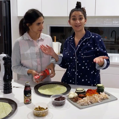 Elena & Thessy's Go-To Pizza Recipe