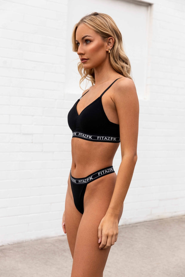 FitazFK Triangle Bra & Thong Set