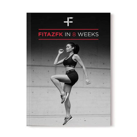 FitazFK 8 Week Challenge Bundle | Fitness Guide | 8 Weeks | Workout & Nutrition program