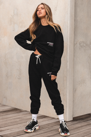 CO-ORDNTS Womens Track Pants Black Onyx