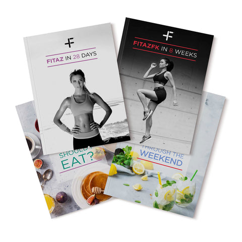 FitazFK 12 Week Bundle | Fitness Program | Exercise and Nutrition Guide