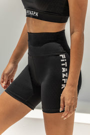 Represent Black Bike Short