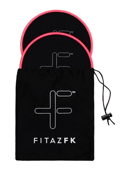 FitazFK 8 Week Challenge Bundle | Workout | Exercise Equipment | Gliders