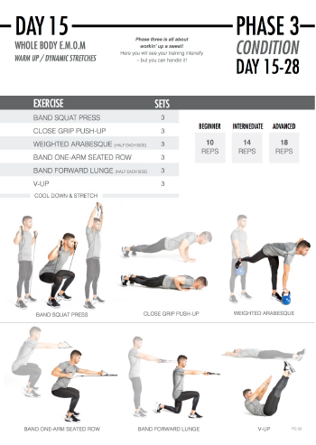 FitazFK Men's Fitness Guide | Workouts & Nutrition Program | Mens 28 Day Challenge