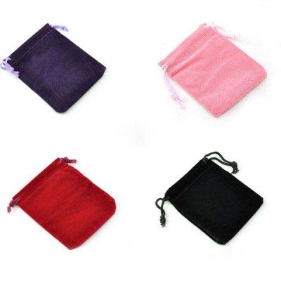 1 Dozen Mixed Jewelry Box Luxury Organza Jewelry Pouches Gifts Bags For Ring Wedding Gifts