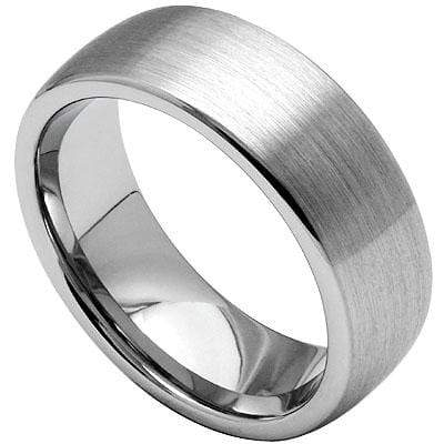 BRUSH SURFACE CARBIDE TUNGSTEN RING - Wholesalekings.com