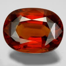 7X9MM OVAL GARNET LOOSE GEMSTONE