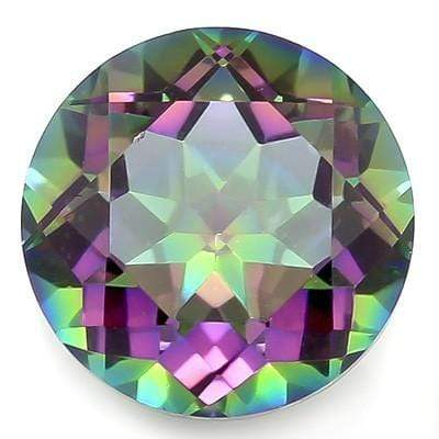 GLAMOROUS 5.79 CARAT TW (1 PCS) MYSTIC GEMSTONE MAGICAL RAINBOW GEMSTONE - Wholesalekings.com