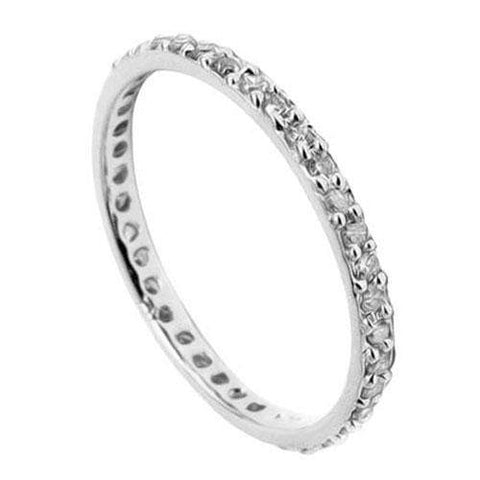 IMMACULATE ! 1/4 CARAT (38 PCS) DIAMOND 10KT SOLID GOLD ETERNITY RING wholesalekings wholesale silver jewelry