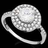 PRECIOUS ! 1 3/4 CARAT (48 PCS) FLAWLESS CREATED DIAMOND 925 STERLING SILVER RING wholesalekings wholesale silver jewelry