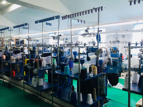 sock factory manufacturing