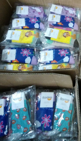 Packaging and Shipment of Finished Socks
