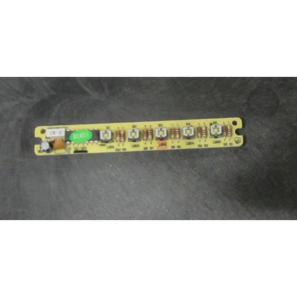 Chambers Hood Control Switch Board CH00048