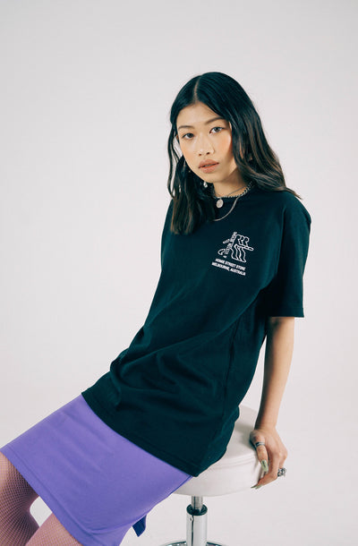 Advancing Society tee - Black