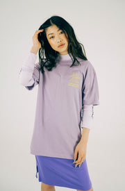 Advancing Society tee - Lilac