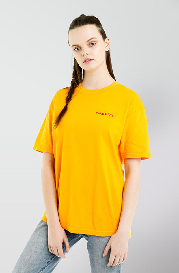 Care Tee - Gold