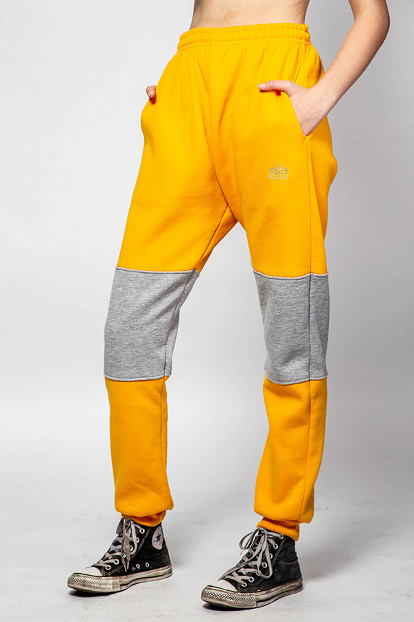 Contrast track pant