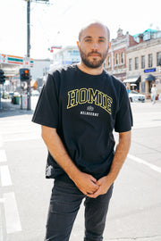 Melbourne College t-shirt - Black