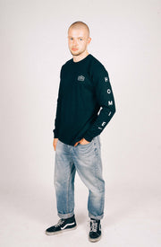 Monogram Long Sleeve - Black