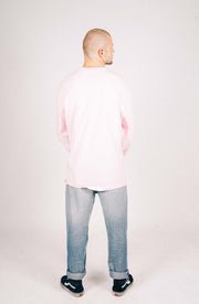 Monogram Long Sleeve - Pink