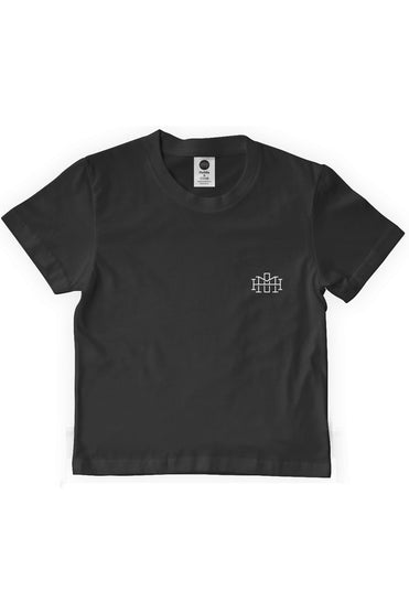 Slim fit monogram tee