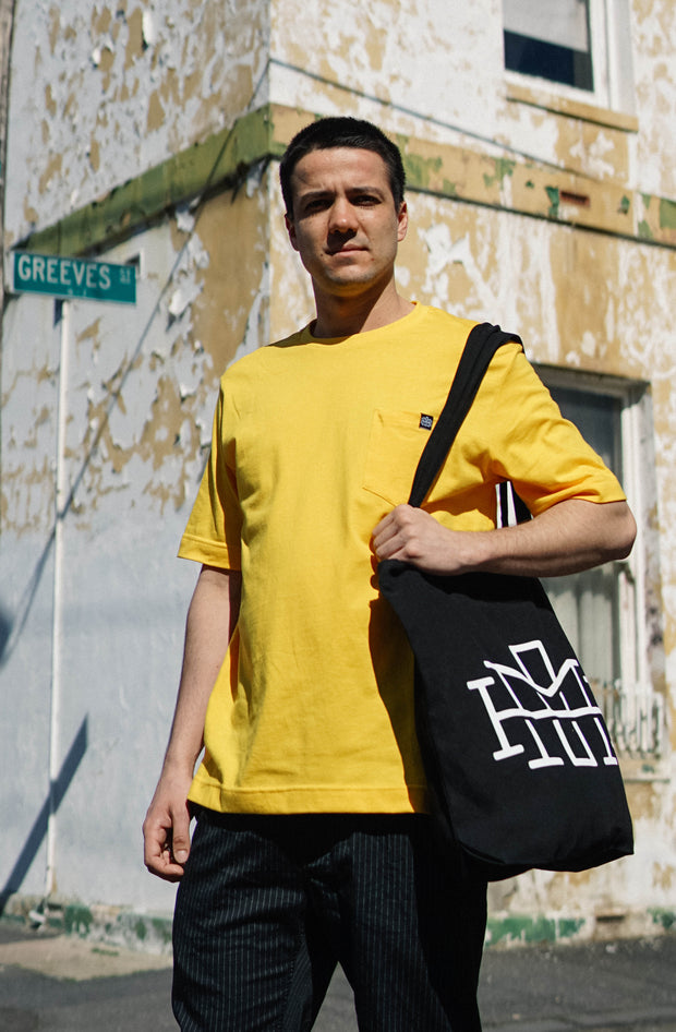 Pocket tee - Sunflower Yellow