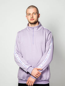 Zip neck windcheater