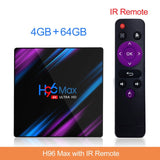 H96 MAX RK3318 Smart TV Box Android 9.0