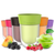 Pack of 6 cups - Grape, Berry, Orange, Apple, Cola and Peach flavors