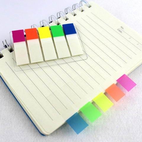 Color-Coded Index Tabs (100pc!)