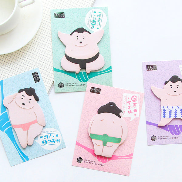 36-Piece Happy Sumo Notes Kit