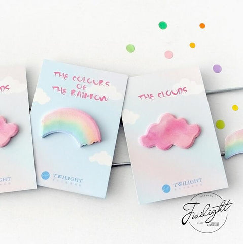 Pink Clouds, Rainbows, & Notes