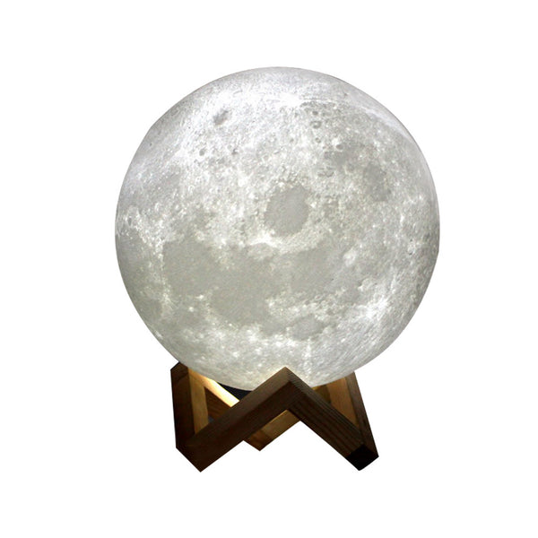 LED Night Moon Lamp (Dimmable Touch Control - USB)